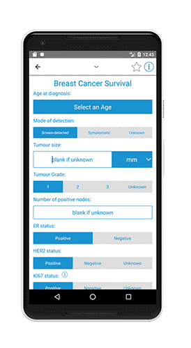 Adjuvant Calculator- Oncology Apps - ONCOassist healthcare